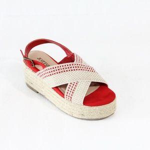 Just Fab women Platform Espadrille Sandals New